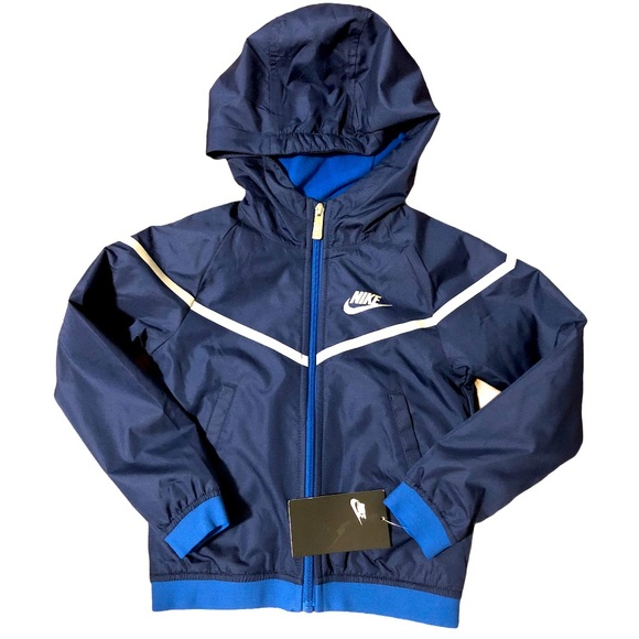 Nike Jacket Zip Up Blue Size 4 NWT SALE